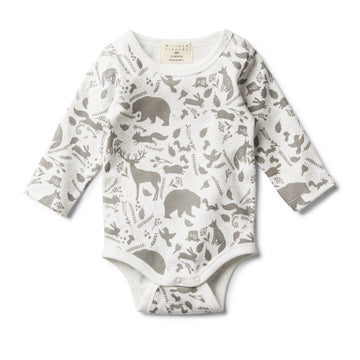 WILD WOODS LONG SLEEVE BODYSUIT - Wilson and Frenchy