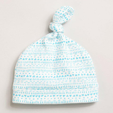 little ink dot Knot hat
