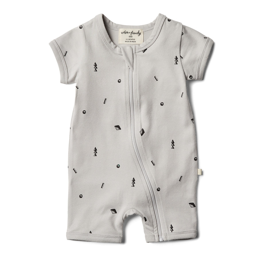 Organic Moonstone Boyleg Zipsuit - Wilson and Frenchy