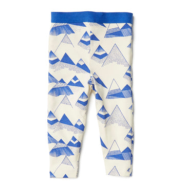 INDIGO MOUNTAINS LEGGING - Wilson and Frenchy