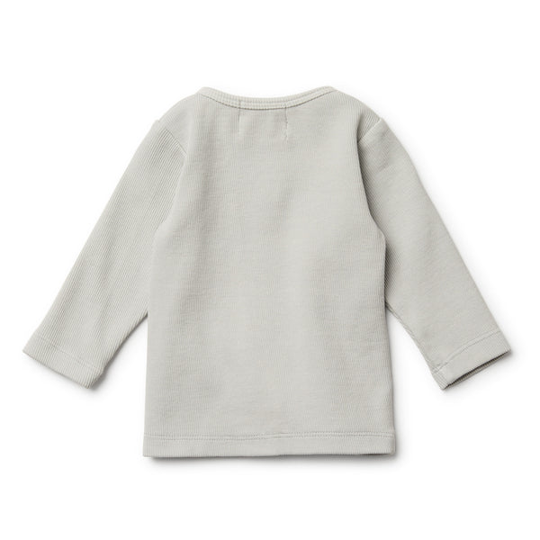 Glacier Grey Cardigan - Wilson and Frenchy