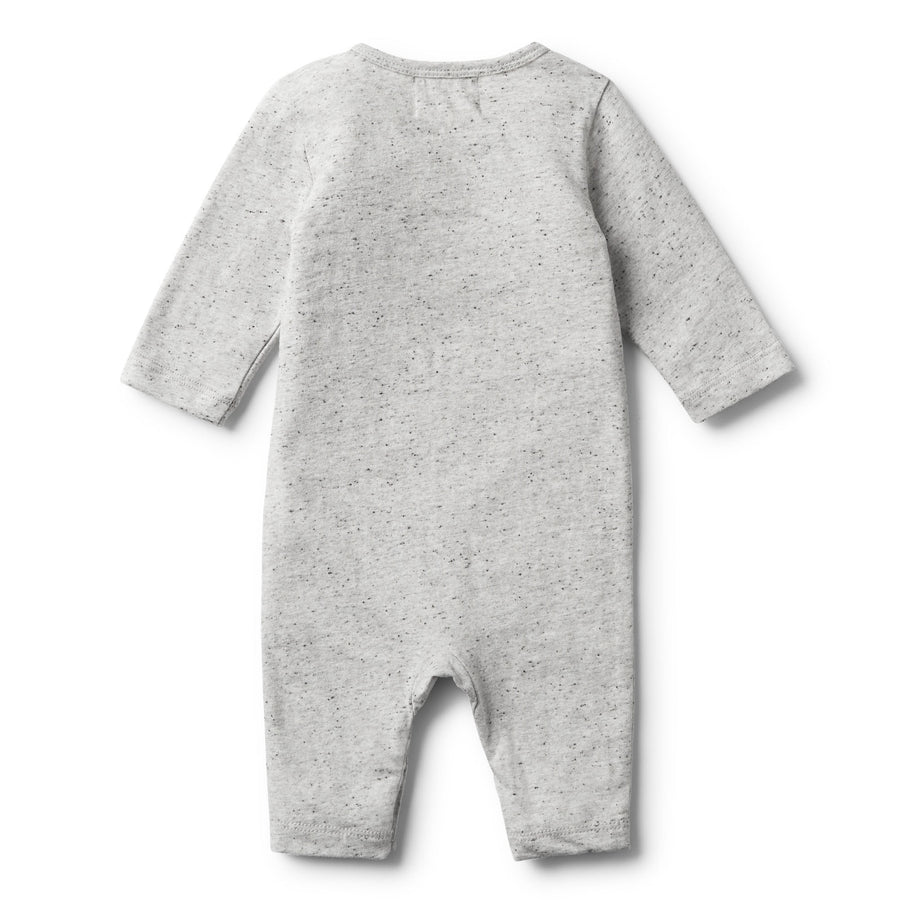 LITTLE PUFF LONG SLEEVE GROWSUIT