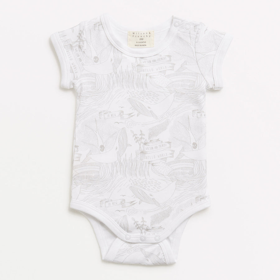 HELLO WORLD BODYSUIT - Wilson and Frenchy