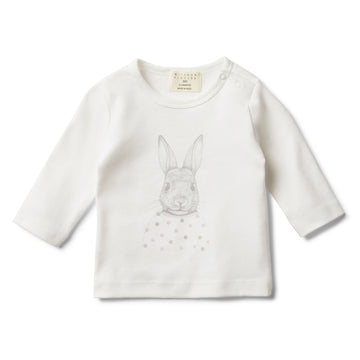 BUNNY LOVE LONG SLEEVE TOP - Wilson and Frenchy