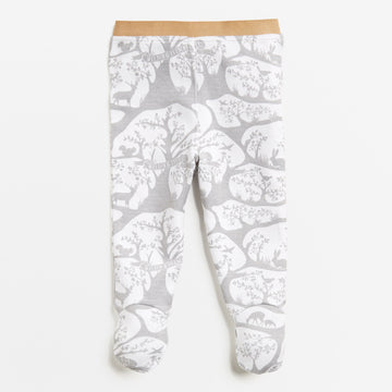 FOREST FROLIC LEGGING WITH FEET-LEGGING-Wilson and Frenchy