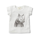 LITTLE RHINO SHORT SLEEVE TOP