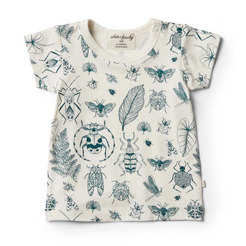 Organic Creepy Crawly Tee - Wilson and Frenchy