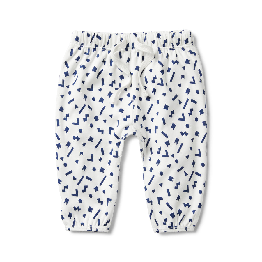 GEO PLAY SLOUCH PANT - Wilson and Frenchy