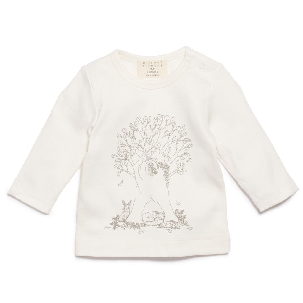 UNDER THE SYCAMORE TREE LONG SLEEVE TOP
