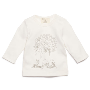 UNDER THE SYCAMORE TREE LONG SLEEVE TOP-Wilson and Frenchy