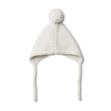 CLOUD KNITTED BONNET - Wilson and Frenchy