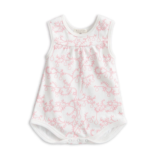 LITTLE PEAR TREE SINGLET BODYSUIT
