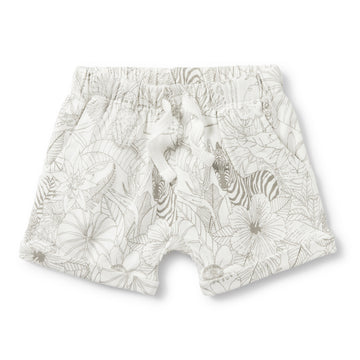 PEEKABOO SLOUCH POCKET SHORTS-SHORTS-Wilson and Frenchy