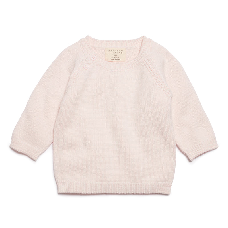 MARSHMELLOW KNITTED JUMPER - Wilson and Frenchy