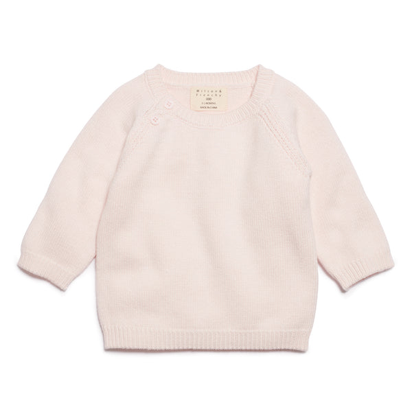 MARSHMELLOW KNITTED JUMPER