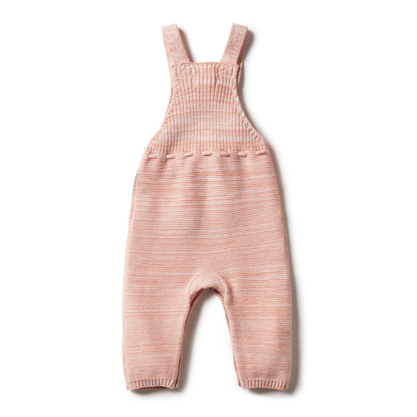 STRAWBERRY & CREAM KNITTED OVERALL - Wilson and Frenchy