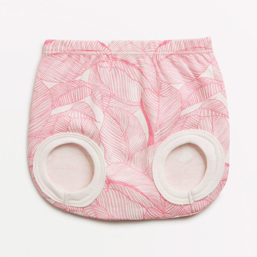 PINK INTO THE JUNGLE NAPPY PANT-NAPPY PANT-Wilson and Frenchy