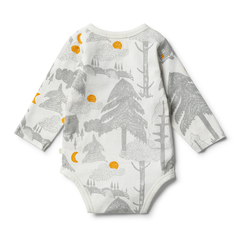 Organic Little Wander Bodysuit - Wilson and Frenchy