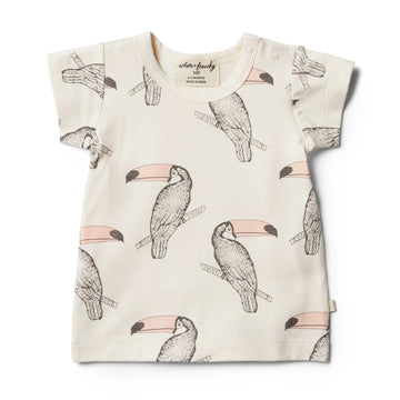 Organic Tutu Toucan Tee - Wilson and Frenchy