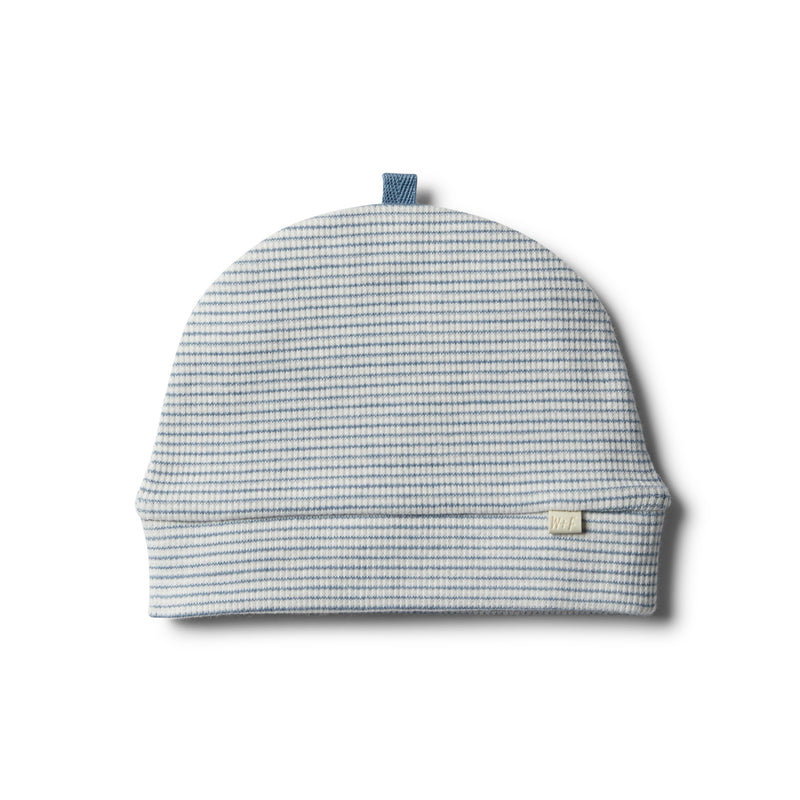 Organic Faded Denim Beanie - Wilson and Frenchy