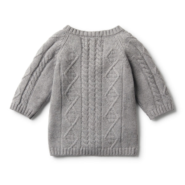 LUXE WOOL CABLE KNIT JUMPER - Wilson and Frenchy