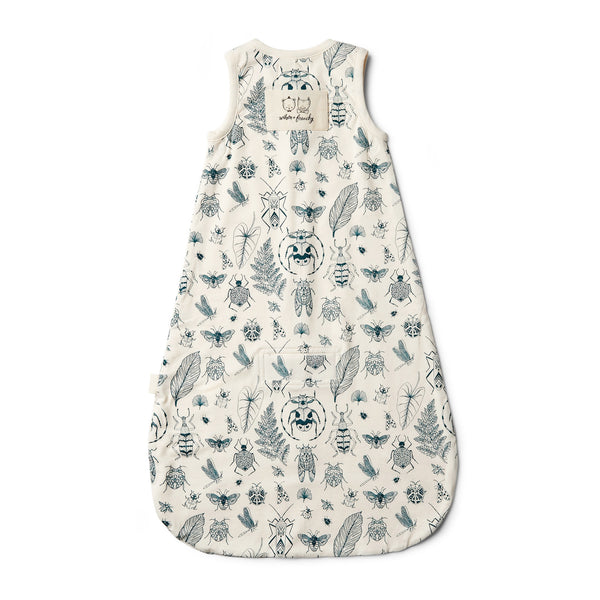 Organic Creepy Crawly Sleeping Bag - Wilson and Frenchy