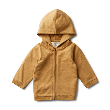 PEBBLE HOODED JACKET-COTTON JACKET-Wilson and Frenchy