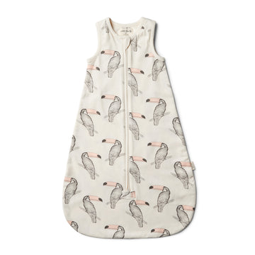 Organic Tutu Toucan Sleeping Bag - Wilson and Frenchy