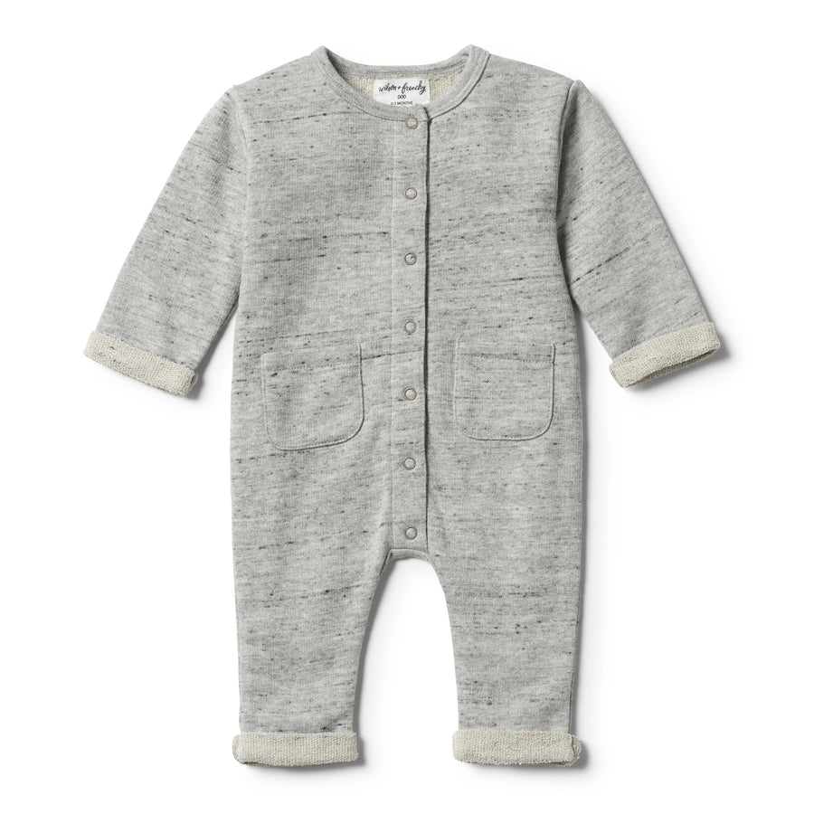 GREY FLECK TERRY GROWSUIT - Wilson and Frenchy