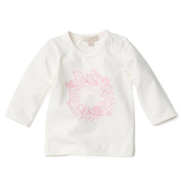 LONG SLEEVE TOP WITH LOVE PRINT-LONG SLEEVE TOP-Wilson and Frenchy