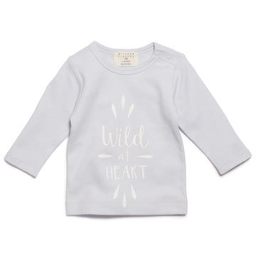 WILD AT HEART LONG SLEEVE TOP - Wilson and Frenchy