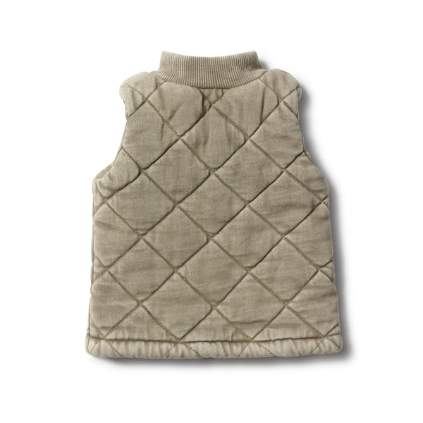 PUTTY QUILTED VEST - Wilson and Frenchy