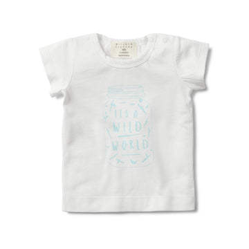 IT'S A WILD WORLD SHORT SLEEVE TEE - Wilson and Frenchy