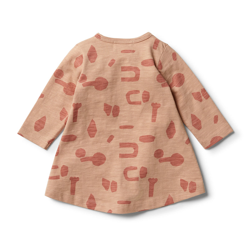 Cut N Paste Smock Dress - Wilson and Frenchy