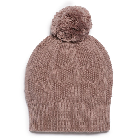 WOOD KNITTED HAT