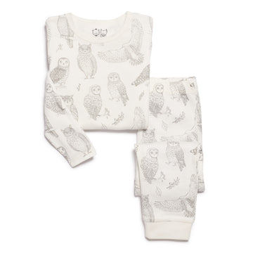 LITTLE HOOT PYJAMA SET - Wilson and Frenchy