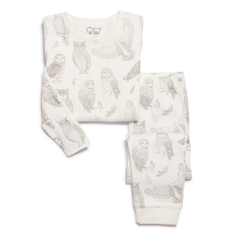 LITTLE HOOT PYJAMA SET