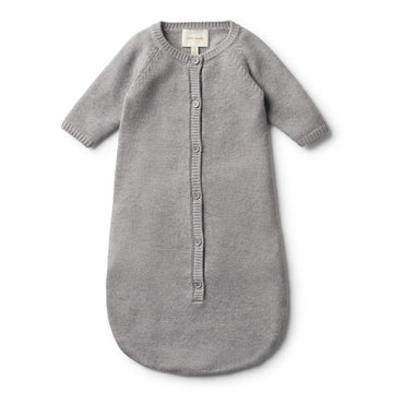 LUXE WOOL KNITTED COCOON SLEEPER