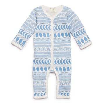 MOON AZTEC LONG SLEEVE GROWSUIT - Wilson and Frenchy