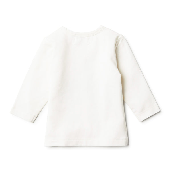 ORGANIC FLUTTER BY LONG SLEEVE TOP - Wilson and Frenchy
