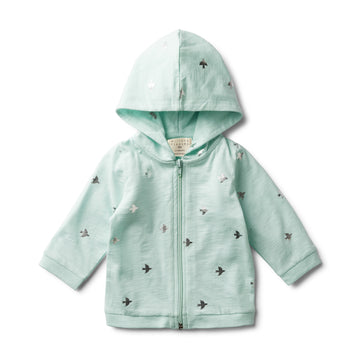 FLY AWAY HOODED JACKET - Wilson and Frenchy