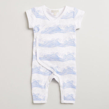 ROLLING TIDES KIMONO GROWSUIT - Wilson and Frenchy
