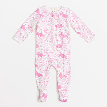 WILD FLOWER ZIPSUIT - Wilson and Frenchy