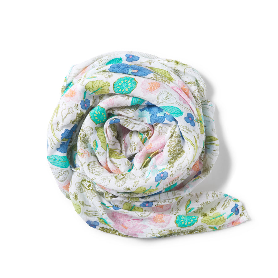 FLORA MUSLIN WRAP - Wilson and Frenchy