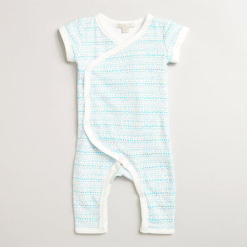 LITTLE INK DOT KIMONO GROWSUIT-GROWSUIT-Wilson and Frenchy