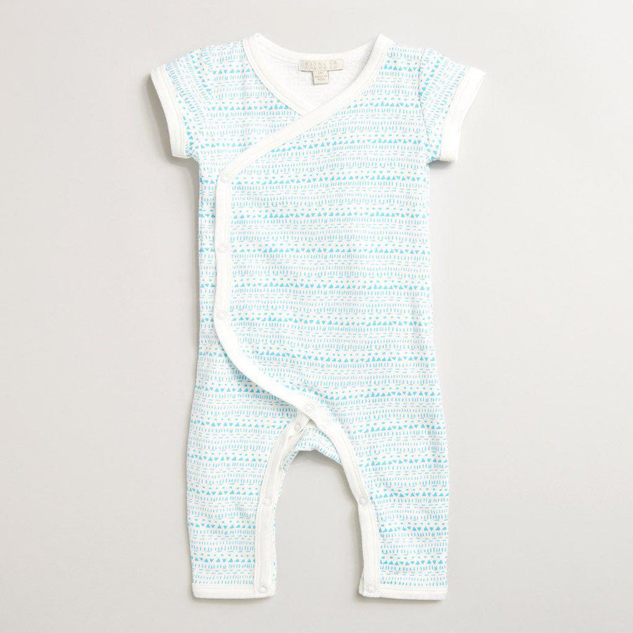 LITTLE INK DOT KIMONO GROWSUIT - Wilson and Frenchy