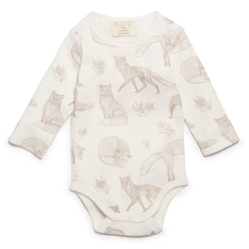 FOXY LONG SLEEVE BODYSUIT - Wilson and Frenchy