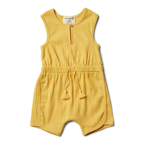 Jojoba Playsuit - Wilson and Frenchy