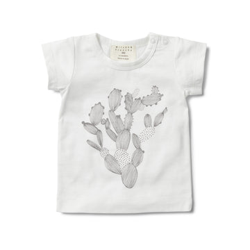 LITTLE CACTUS SHORT SLEEVE TEE - Wilson and Frenchy