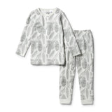 Organic Little Spruce L/S Pyjama Set - Wilson and Frenchy